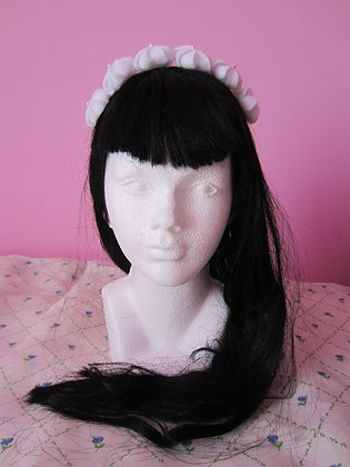 Whipped Cream Headband
