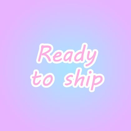 Ready To Ship