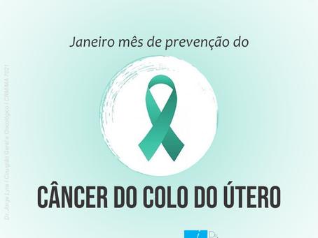 Janeiro Verde – Mês de prevenção ao câncer do colo de útero