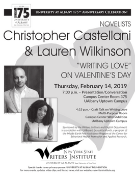 Writing Love with Christopher Castellani and Lauren Wilkinson