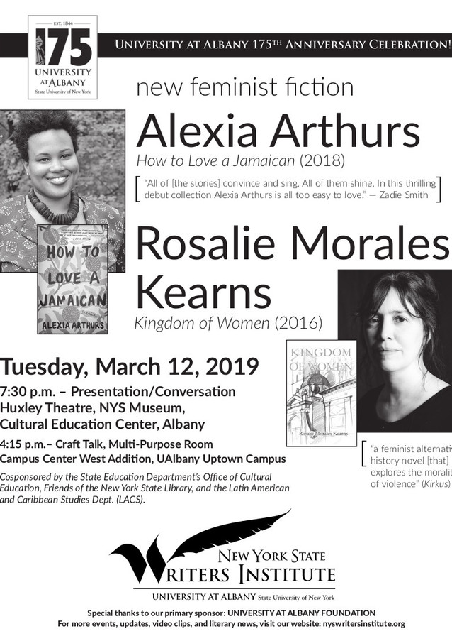 Feminist Fiction with Alexia Arthurs and Rosalie Morales Kearns