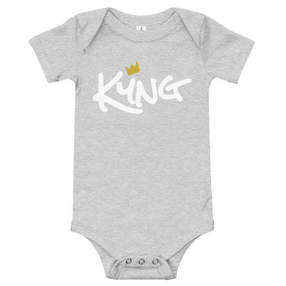 baby-short-sleeve-one-piece-athletic-heather-front-6020e2f6b3820.png