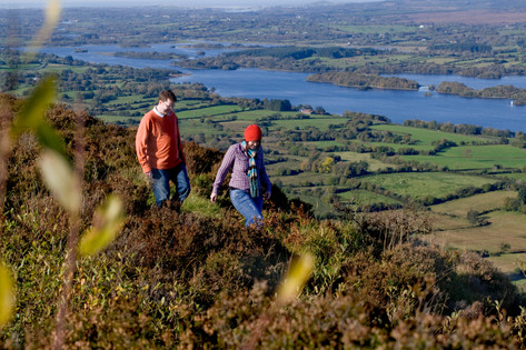 00-Fermanagh Lakelands-14-Walking in Lower Lough Erne