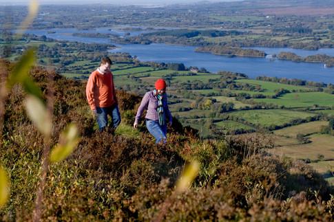 00-Fermanagh Lakelands-14-Walking in Lower Lough Erne