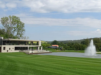 Zala Springs golfresort clubhuis