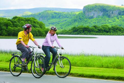 00-Fermanagh Lakelands-04-Cycling through Fermanagh