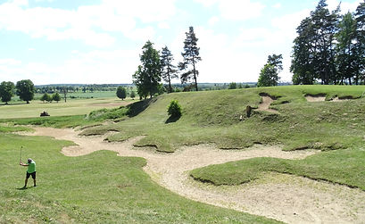 Hole 9 Sand Valley