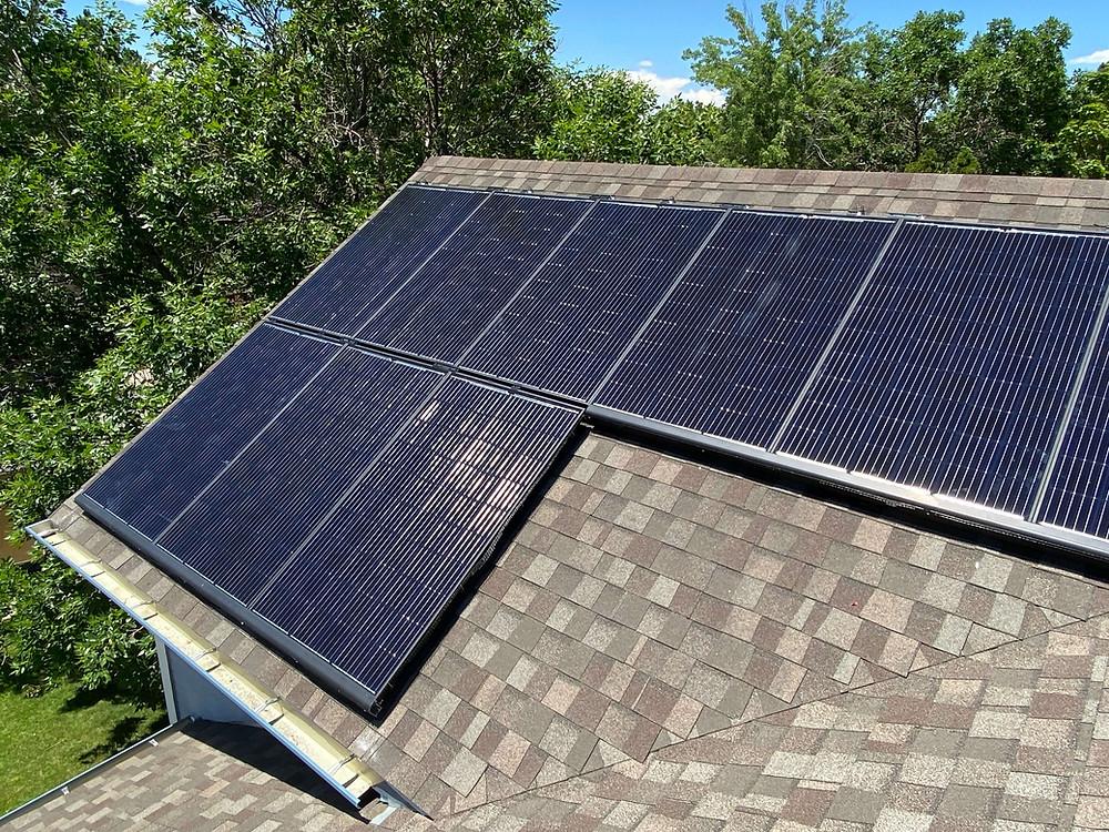 solar panels installed in Colorado, solar energy