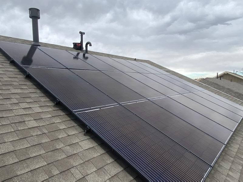 home rooftop solar panels in Colorado