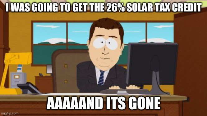 solar investment tax credit percentage ITC