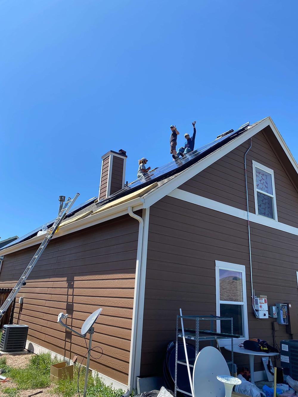 Solar panels installers in Denver, Colorado