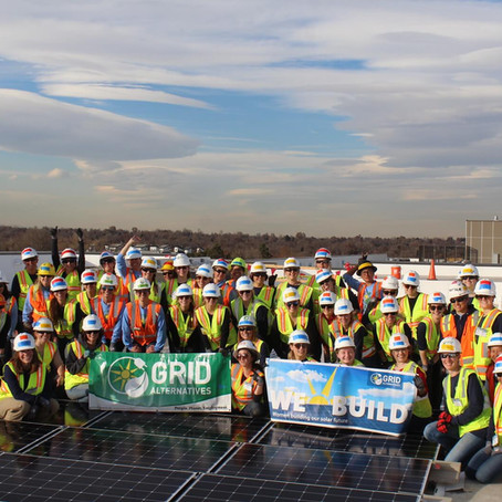 We Build 2019: Denver Women Volunteer to Install 40 kW of Solar Power