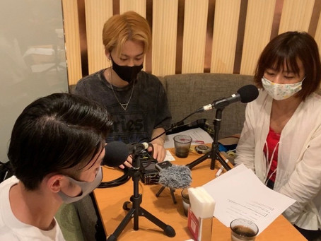 TOKYO FM 朝の情報ワイド番組 「Blue Ocean」 の収録を行いました!