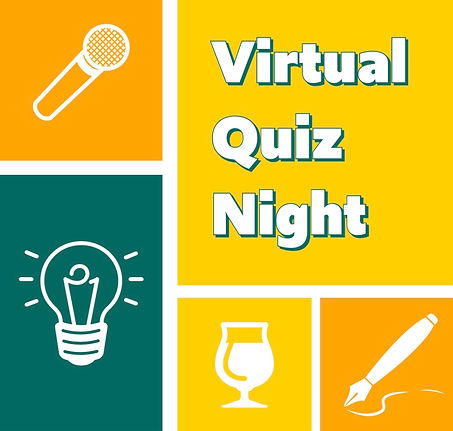 Yellow and Green Virtual Quiz Night Inst