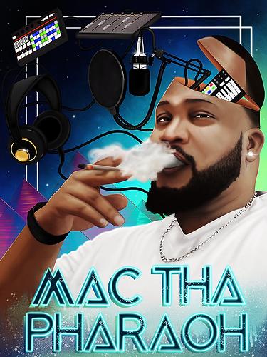 MacThaPharaohGraphicPoster_Social Media