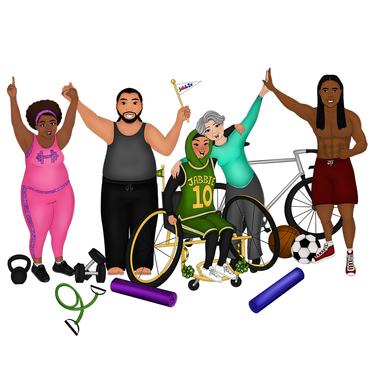 Group Exercise Illustration