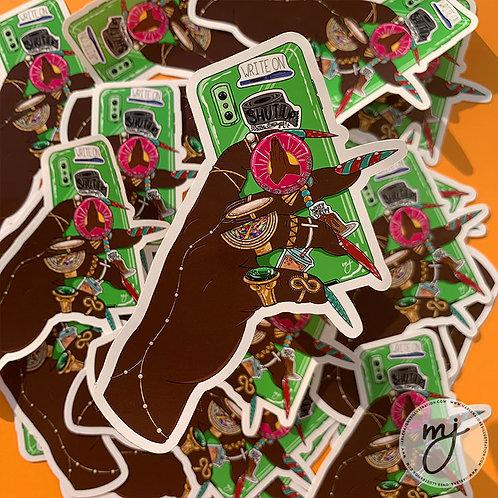 Tricky Sticker