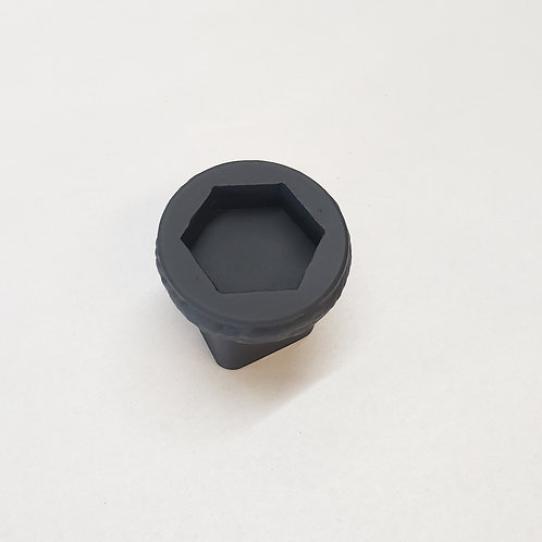 """Socket for 1.25"""" raised HEX head cleanout plugs"""