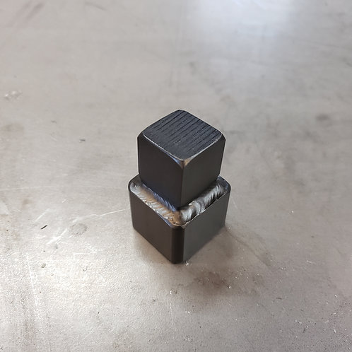 "Square socket for 7/8"" countersunk head cleanout plugs"