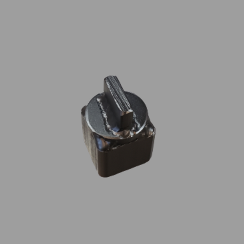 "Socket for 1/4"" x 1"" slotted head cleanout plugs"