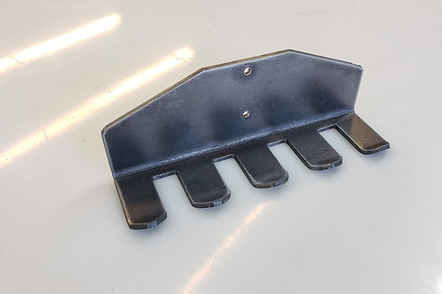 Steel pry bar rack