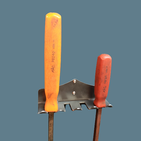 Steel pry bar rack - NEW styling