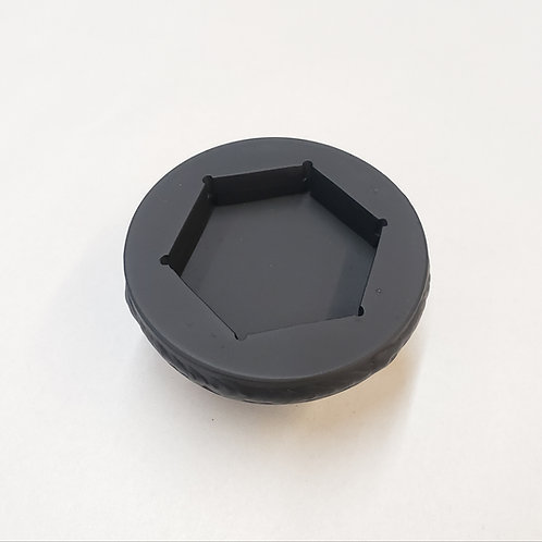 """Socket for 2"""" raised HEX head cleanout plugs"""
