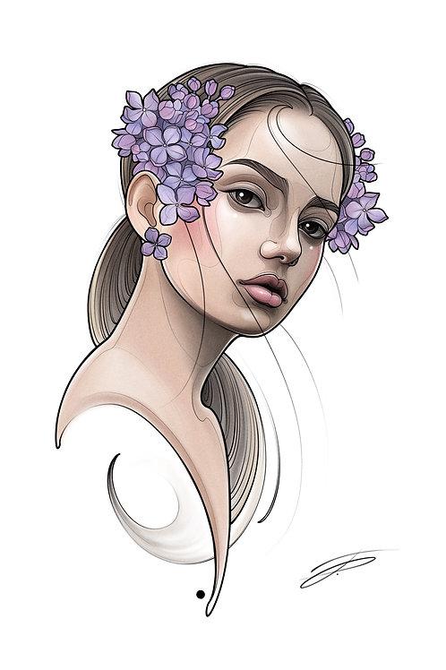 Spring Lady #1
