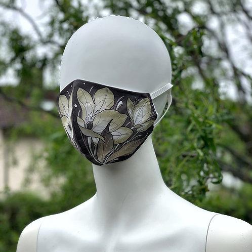 Community-Maske Blumen