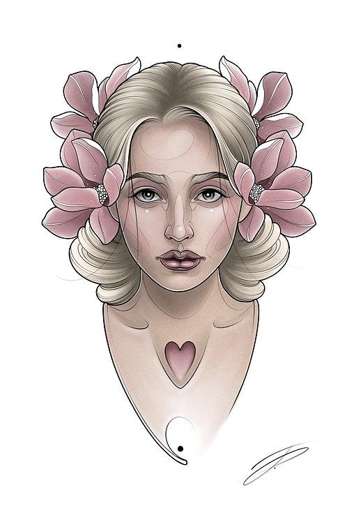 Spring Lady #2
