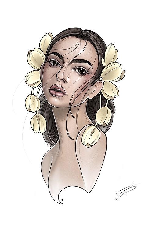 Spring Lady #3