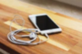 iPhone and Earphones
