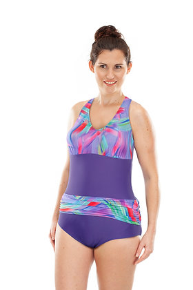 Kes-Vir Ladies Sash Swimsuit