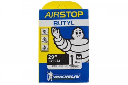MICHELIN Chambre à air VTT A4 AIRSTOP 29x1.90/2.50 Valve Schrader