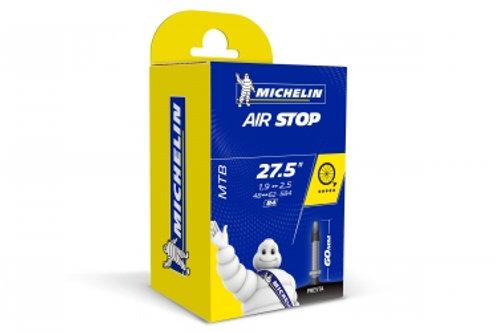 MICHELIN Chambre à air VTT B4 AIRSTOP 27.5x1.90/2.50 Valve Presta 60mm