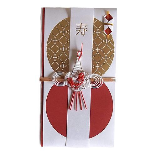 縁と縁祝儀袋 鶴ホワイト