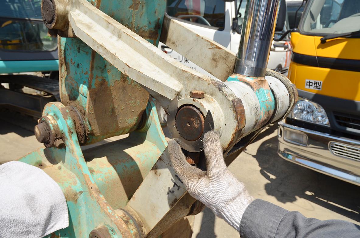 バケットピンシム 建設機械