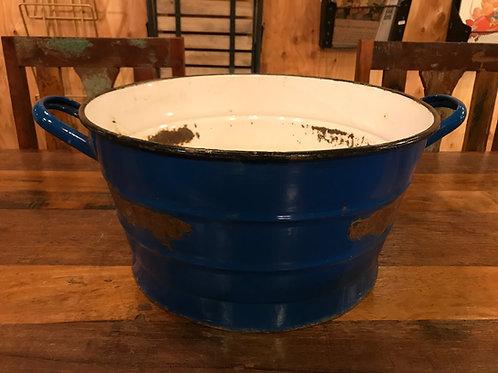 ハンガリーホーロー桶