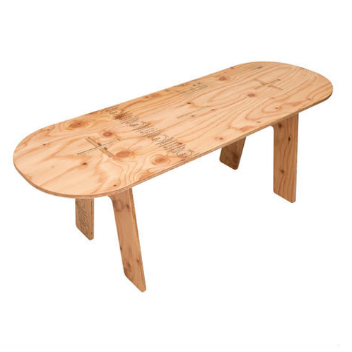 PANEL LONG TABLE