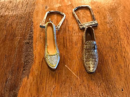 靴モチーフのキーリングペアセットD