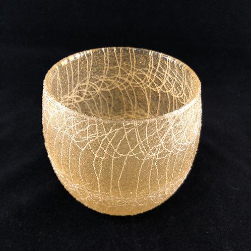 RUBBER SPAGHETTI STRING ROUND ROCK GLASS 9