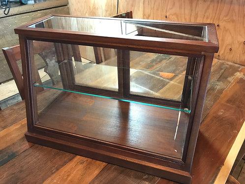 ガラスショーケース キャビネット ワイド 大型商品