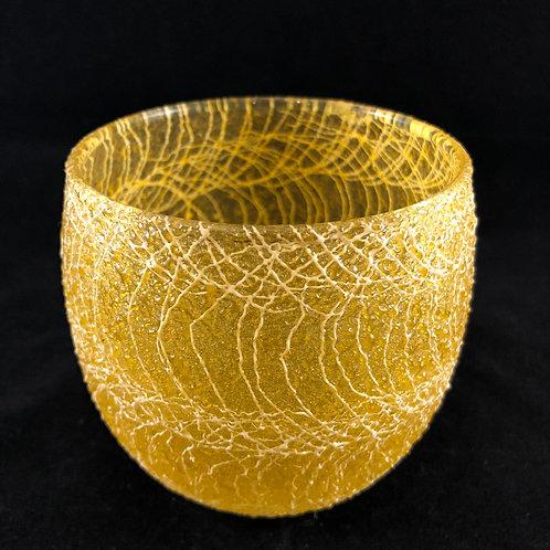 RUBBER SPAGHETTI STRING ROUND ROCK GLASS 13
