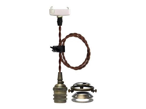 紐型E26ペンダント灯具 アルミ製古銅色仕上げ STFL-N23