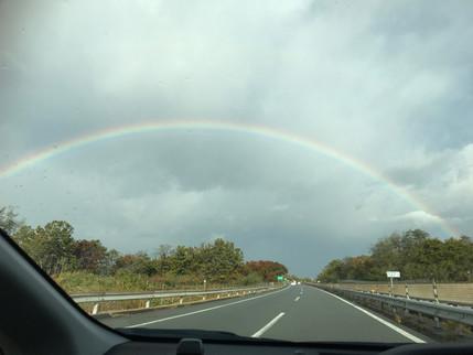 虹が出たら