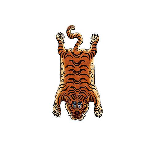 """Tibetan Tiger Rug  / Large"""""""