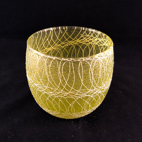 RUBBER SPAGHETTI STRING ROUND ROCK GLASS 36