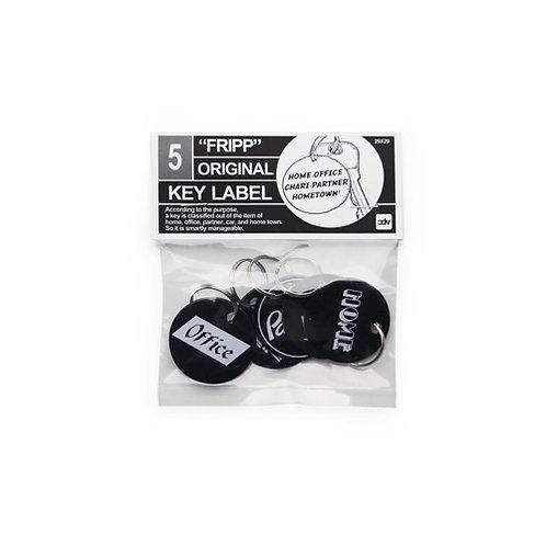 "Fripp Original Key Label ""Black"""