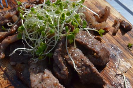 肉山葵醬油仕立て