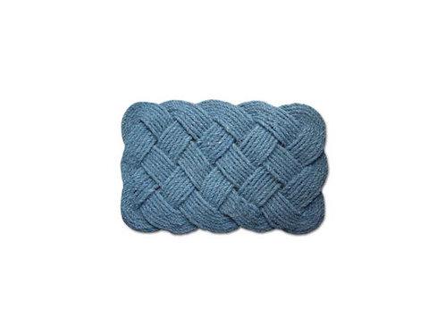 """Infinity Coir Mat """"M/ Blue"""""""